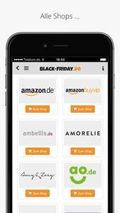 Black-Friday.de App Screenshot 2