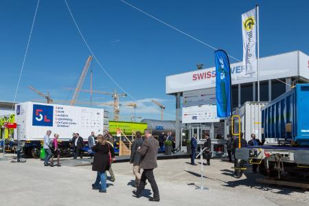 """Gemeinschaftsstand """"SwissMovers"""" auf der transport logistic 2017 in München"""