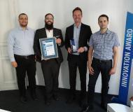 Verleihung des Innovation Award an Secucloud