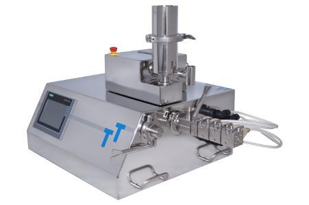 Mini-Extruder Hybrid mit 9mm Flachboden-Dosiergerät
