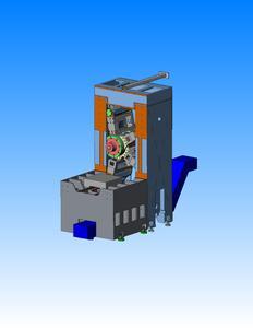 Die Struktur des kinematischen Systems wurde von einem V zu einem X verdoppelt. Dadurch läuft die Maschine stabiler