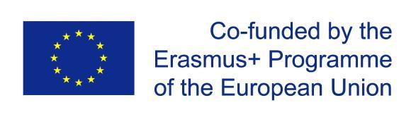 Erasmus+-Projekt der Europäischen Union Logo