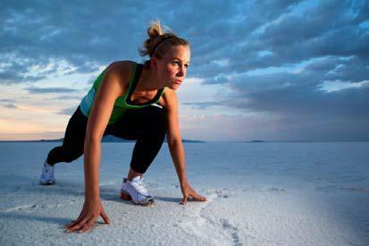 Das angenehme Wetter lockt zu mehr Bewegung und Sport an die frische Luft. © iStock Foto