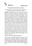 [PDF] Pressemitteilung: Cristie Data Products GmbH eröffnet Nexsan ShowRoom
