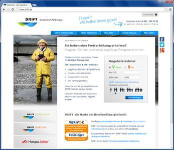 webworx relauncht Ökostromanbieter DRIFT