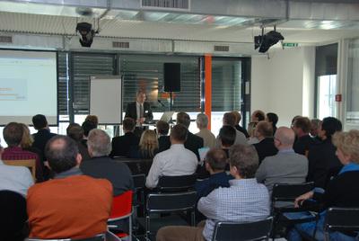 Christian Rusche, CEO bei BSI, eröffnet das User Group Meeting