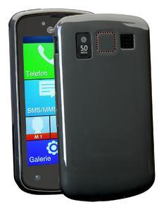 Für das Smartphone M9000 von amplicomms ist auch eine passende Schutzhülle erhältlich