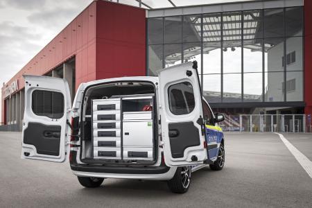 Mit der bott vario Fahrzeugeinrichtung herrscht Sicherheit, Ordnung und Übersicht im Laderaum
