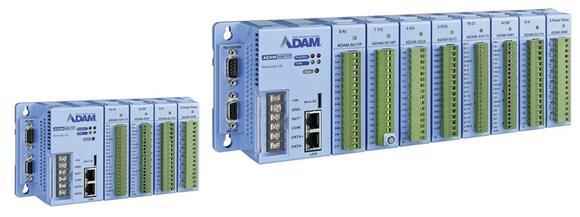 Ethernet Remote-I/O-Systeme der ADAM-5000 Serie