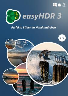 Bildbearbeitung in Perfektion: EasyHDR 3 als Boxversion exklusiv bei S.A.D.