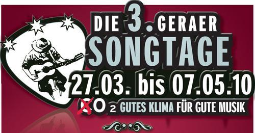 Logo der Geraer Songtage