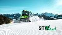 Pistenraupen sorgen bei der Ski-WM für perfekt präparierte Strecken