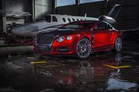 SANGUIS - MANSORY customises the Bentley Continental GT as a luxury widebody with a high-quality interior