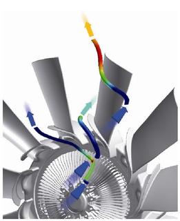 Neue Visco®-Kupplung von Behr Hella Service reduziert Abgase