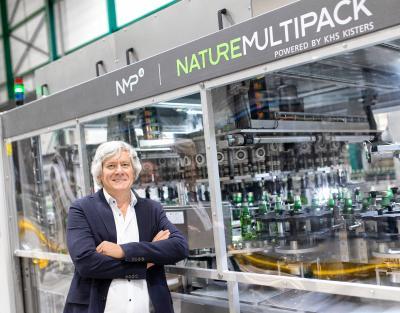 """Jan Martens, Chef der belgischen Brauerei Martens: """"Bei allen Akteuren in der Branche, vom Handel bis zum Abfüller, gewinnt das Thema Nachhaltigkeit zunehmend an Bedeutung. Gemeinsam mit KHS bieten wir die passenden Lösungen für das Vermeiden, Wiederverwerten und Recyceln von Plastik."""""""