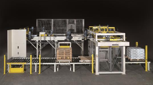 Mit dem Erwerb von Newtec Bag Palletizing, einem Hersteller von automatischen Palettiersystemen,  entwickelt sich Haver & Boecker zum Fullliner