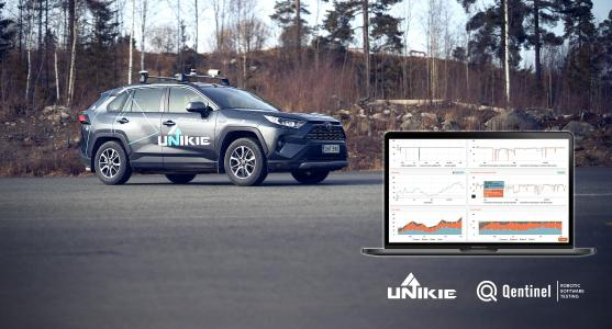 Unikie and Qentinel cooperate to automate software testing for connected cars