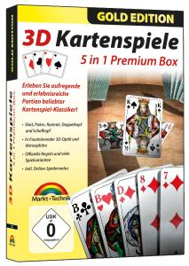 3D Kartenspiele: 5 in 1 Premium-Box