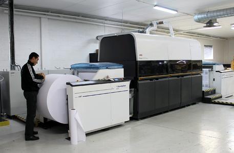 Mit den Möglichkeiten der KODAK PROSPER 1000 Druckmaschine konnte die Druckerei Sagim ihr Auftragsvolumen im Bücherdruck um 20 % steigern