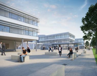 Konzernzentrale mit Technologiezentrum in Ursensollen