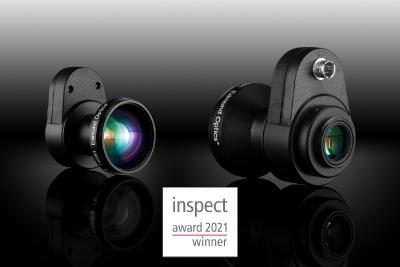 Edmund Optics® wins inspect Award for the 5th year in a row – 3rd place for new LT lens series