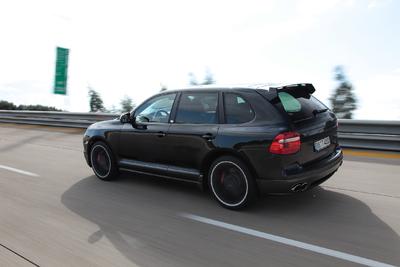 TECHART Fullsize-SUV Geschwindigkeitsrekord