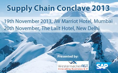 Supply Chain Conclave 2013