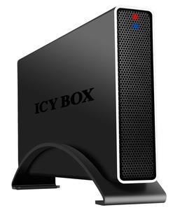ICY BOX IB-318StU3-B - external enclosure for an HDD with USB 3.0