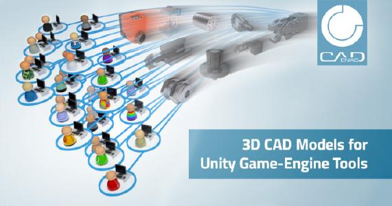 Over 500 CADENAS manufacturer catalogs available for Unity Game-Engine users