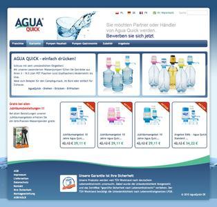 100% individuelle Lösungen - Agua Quick