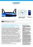 [PDF] Datenblatt Linksys WRT1900AC