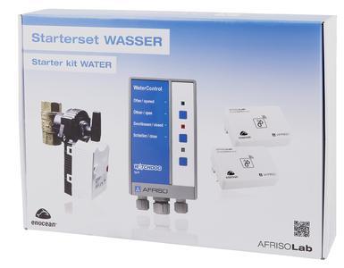 """Beim AFRISO Starterset WASSER gilt die Devise """"Kompakt starten und grenzenlos ausbauen"""". Es umfasst den typischen Anwendungsfall in einem Einfamilienhaus, das System ist zudem aber auch mit zusätzlichen Wassersensoren erweiterbar (Foto: AFRISO)"""