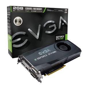 EVGA GeForce GTX 680, 2048 MB DDR5, PCIe 3.0, DP, HDMI, DVI