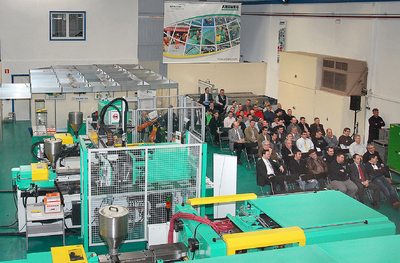 """Automation Allround"" bei Arburg S. A."