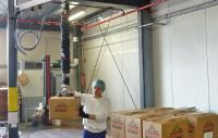 FIPA in practice: Tube lifter makes palletizing of heavy packages easy