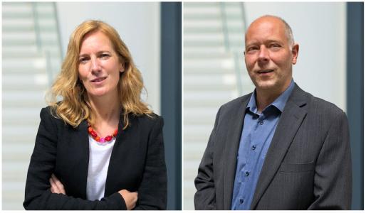 Christine Schierge und Andreas Engels