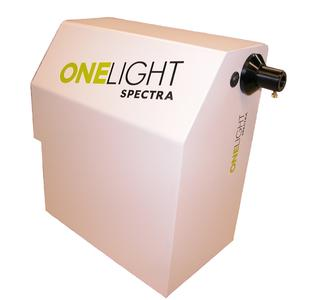 View of the OneLight Spectra Spectrally Programmable Light Engine (SPLE)