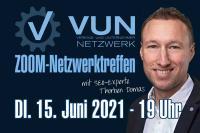 VUN ZOOM Netzwerktreffen Juli 2021 zum Thema SEO mit Thorben Domas von der ABAKUS Internet Marketing GmbH