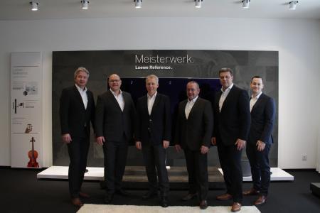 von links: Frank Selle, Michael Scholz, Thomas Baumann, Michael Doll, Carsten Jentsch und Stephan Knopp