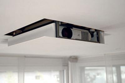 Projektorlift für Deckeneinbau