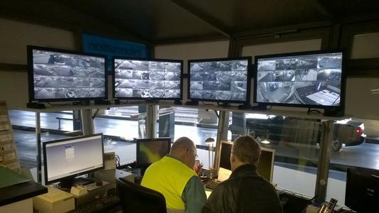 Parkhaus Videoleitzentrale mit dem VideoCenter III