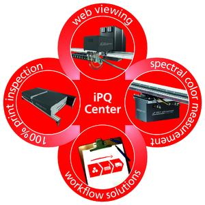 The iPQ-Center with individualized solutions for numerous inspection tasks can be assembled in modular fashion.