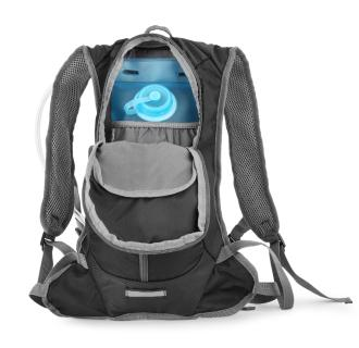 The comfortable hydration system has a generous volume of two liters and 11 liters of luggage…