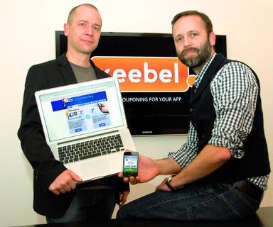 Bieten der lokalen Nightlife-Szene ein neuartiges Promotionstool: Christoph Müller und Oliver Stäcker