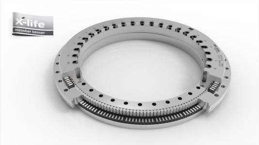 Mit der INA Rundtischlagereinheit YRTC in X-life Qualität stehen Betreibern von Werkzeugmaschinen neue Wege zu mehr Zerspanungsleistung bei gleichzeitig höherer Präzision zur Verfügung / Foto: Schaeffler