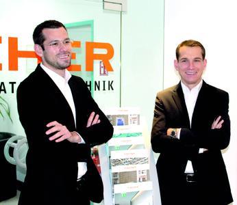 Werner Robby (li.) und Axel Fischer (re.)