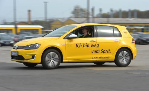 BVG Elektroautos