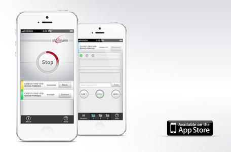 Bluetooth Low Energy Profil ermöglicht serielle Datenübertragung mit Apple iOS Geräten