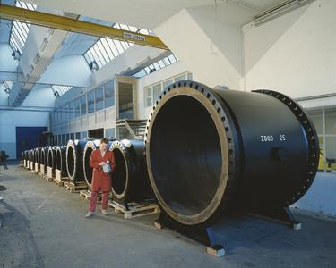 The first large-scale electromagnetic flowmeter project for Endress+Hauser: flowmeters (DN 800 to 2000) for the drinking water supply in the city of Algiers in North Africa (1985)