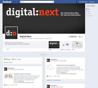 Digital:Next auf Facebook